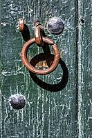 Knocker in the door