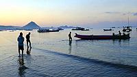 Kuta beach,Kuta,Lombok,Indonesia,Souteast Asia,Asia.