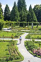 Garden estate on Mainau Island, Lake Constance (Bodensee), southern Germany.