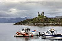 Caisteal Maol, Isle of Skye, Scotland, United Kingdom.