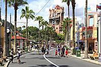 Holywood Tower Hotel,Walt Disney World Resort, theme park, Orlando, Florida, USA.