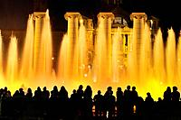 Magic Fountain of Montjuïc, Font Mágica de Montjuic, constructed for the 1929 Barcelona International Exposition, designed by Carles Buigas . The Four...