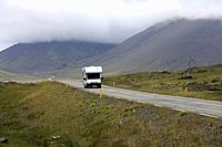 Scenery along the Ring Road, Iceland, Europe.