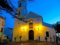 Nerja, Andalusia, Costa del Sol, Spain. Iglesia El Salvador (Church of the Savior).