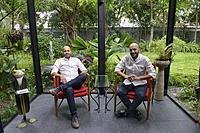 Twin gourmet chefs Thomas and Matthias Suhring, Bangkok, Thailand.