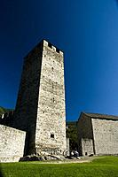 White Tower of Castelgrande in Bellinzona