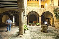 Town Hall, Rubielos de Mora. Camino del Cid. Aragón. Spain