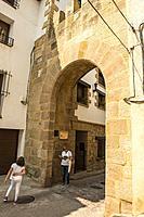 Portal de Rubielos. Mora de Rubielos.Camino del Cid. Aragón.