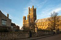 Ely Cathedral in Cambridgeshire. England.