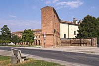 Palazzo Giardino and Galleria degli Antichi, Sabbioneta, Lombardy, Italy