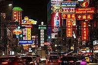 China town, Bangkok, Thailand.