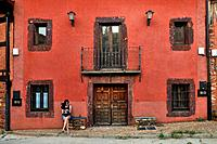Madriguera. The Red Architecture in the province of Segovia. Spain.