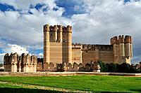 Coca Castle in Segovia. Spain