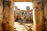 Torre d'en Galmes or Gaumes, Cartailhac Circle (talaiotic age). Alaior, Minorca Biosphere Reserve, Balearic Islands, Spain.