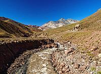 Horcones River, Aconcagua Provincial Park, Central Andes, Mendoza Province, Argentina.
