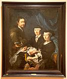 ´The artist with his family´ by Karel van Mander lll in National Museum in Copenhagen, Denmark
