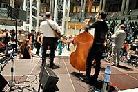 Jazz concert at MNAC. Barcelona, Catalonia, Spain