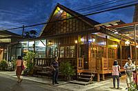 A restaurant in Krabi Island, Thailand