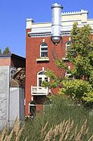 Canada, Quebec, Trois-Rivières, street scene, houses, architecture,.