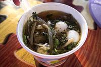 Sea cucumber soup, Klong Hae Floating Market, Hatyai, Thailand