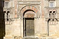 San Juan Door at Cordoba Mosque, Andalusia, Spain.