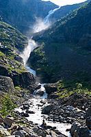 Trollstigen near Andalsnes, Norway, Scandinavia, Europe.
