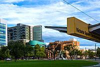 Victoria square, Adelaide city centre, South Australia. Australia.