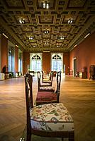 Austria, Vienna, Museum for Applied Arts, MAK, historic furniture designs.