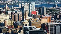 Beautiful vew of Philadelphia from One Liberty Observation Deck, Philadelphia, Pennsylvania, USA.