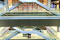 Riga, Latvia The National Library of Latvia designed by the internationally acclaimed Latvian-born architect Gunnar Birkerts (USA), and it is among th...
