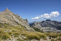 Puig Major, highest point in the Balearic Islands, 1445 metres, Sierra de Tramuntana, municipio de Escorca, Mallorca, Balearic islands, Spain.