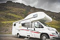Motorhome trip with family touring Uk and Scotland.