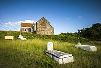 St. Kitts and Nevis, Nevis, Hicks Village, St. James Anglican Church.