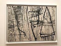 Cy Twombly, Tiznit, 1953, Museum of Modern Art, MOMA, New York, USA.