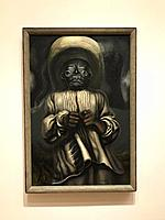 David Alfaro Siqueiros, Etnography, Painting, 1939, Moma, Museum of Modern Art, New York city