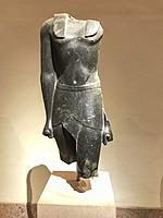 Torso of a king, Egypt, 330 BC, Metropolitan Museum of Art. New York City. New York. United States