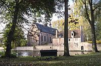 Cathedral of St. Elisabeth in Beguinage, Bruges, Belgium.