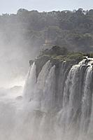 The Devil´s Throat is a set of waterfalls 80 m high that are detached towards a narrow gorge, which concentrates the highest flow of the Iguazu Falls,...