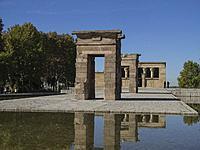 Templo de Debod, Madrid, Spain.