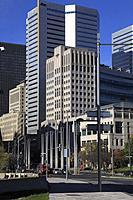 Canada, Quebec, Montreal, Boulevard Robert-Bourassa,.