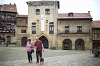 Torre de Don Borja (XIVth and XVth). Santillana del Mar, Cantabria. Spain.