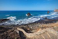 Scenic Benijo beach in north Tenerife Island, Canary islands, Spain.