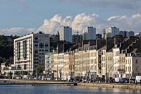 Quai de France. Cherbourg-Octeville, Normandy, France