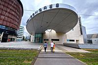 Palais des Congres, Boulevard de Champagne, Dijon, Côte d´Or, Burgundy Region, Bourgogne, France, Europe