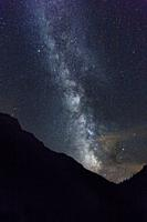 Milky way over Bujaruelo valley, Huesca Pyrenees, Spain. A perfect place to shoot the milky way.