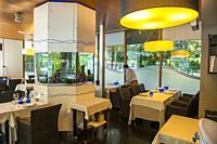 Aquarium Restaurant, Acera de Recoletos Street, Valladolid, Castilla y Leon, Spain