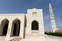 Sultan Qaboos mosque, Muscat, Oman.