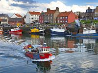 Victoria Harbour, Dunbar, East Lothian, Scotland.