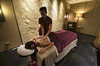Pampering spa treatment, Bangkok, Thailand.