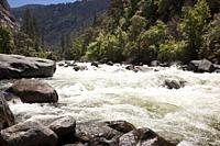 River on Yosemite National Park. California, USA